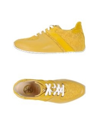 Fabi Low Tops And Trainers Yellow