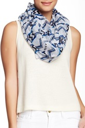 Cara Accessories Infinity Scarf Blue
