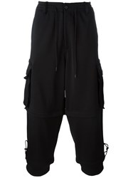 Y 3 Convertible Cargo Trousers Black