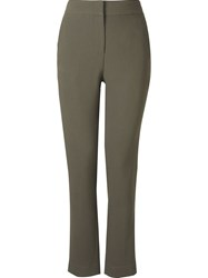 Andrea Marques Waistband Trousers Brown