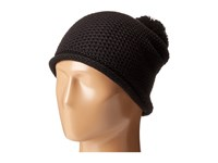 Michael Stars Seed Stitch Cashmere Blend Hat Black Beanies