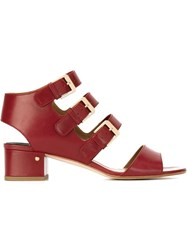 Laurence Dacade 'Klio' Strappy Sandals Red