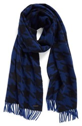 Ted Baker Men's London Harris Houndstooth Cashmere Scarf