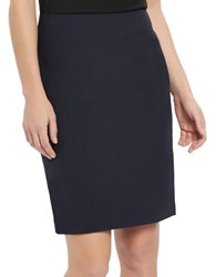 Ellen Tracy Marissa Stretch Skirt Navy