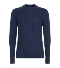 Henri Lloyd Crew Neck Knit Sweater Male Blue