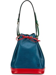 Louis Vuitton Vintage Colour Block Shoulder Bag Blue