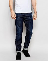 Gas Jeans Gas Morrison Straight Fit Jean Selvedge Blue