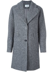 Carven Two Button Coat Grey