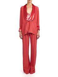 Alexis Mabille Pleated Pants Pink