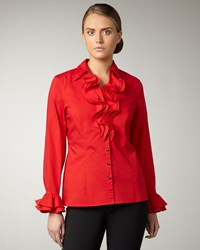 Go Silk Ruffled Blouse Women's