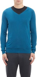 Elie Tahari Blake Sweater Blue