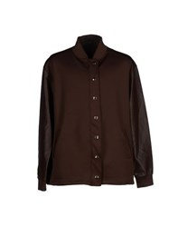 Jijil Coats And Jackets Jackets Men Cocoa