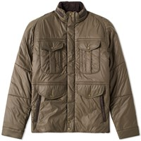 Barbour X White Mountaineering Vela Quilt Jacket Green