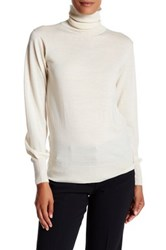 Trina Turk Larina Merino Wool Sweater White
