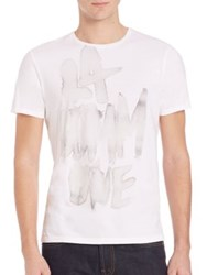Commune De Paris Short Sleeve Graphic Tee White