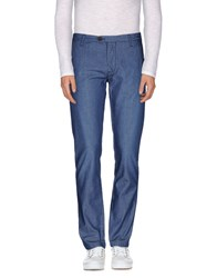 Individual Trousers Casual Trousers Men Blue