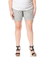 Motherhood Maternity Plus Size Cuffed Shorts