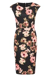 Sugarhill Boutique Lori Digital Floral Shift Dress Multi Coloured Multi Coloured