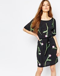 Paul By Paul Smith T Shirt Dress In Tulip Print Multi