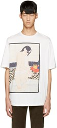 3.1 Phillip Lim White Graphic T Shirt
