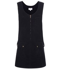 Frame Le Cord Corduroy Dress Blue