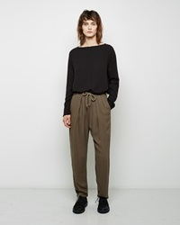 Black Crane Slim Pant Coffee