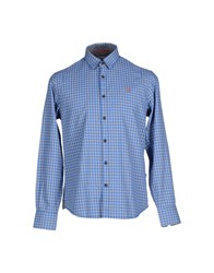 Napapijri Shirts Shirts Men Pastel Blue