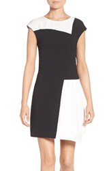 Charles Henry Women's Colorblock Shift Dress