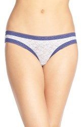 Kensie Mattie Lace Thong Multi