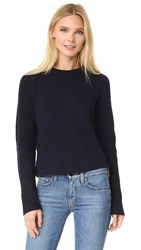 Carven Ribbed Sweater Marine