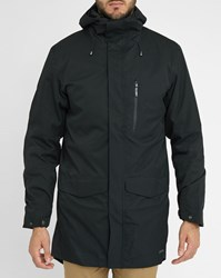 Swims Black Zurich Hooded Technical Parka