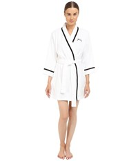 Kate Spade Terry Wrap Fresh White Mrs Women's Robe