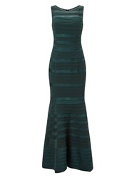 Phase Eight Shannon Layered Dress Emerald