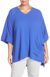 Plus Size Women's Melissa Mccarthy Seven7 One Pocket V Neck Tee