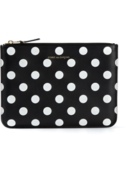 Comme Des Garcons Wallet Polka Dot Coin Purse Black