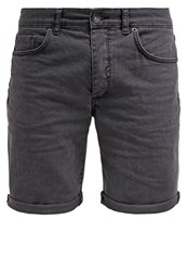 Selected Homme Shnalex Denim Shorts Grey