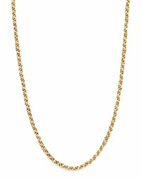 Bloomingdale's 14K Yellow Gold Triple Link Chain Necklace 18