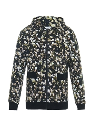 Givenchy Floral Print Cotton Jersey Hooded Sweatshirt