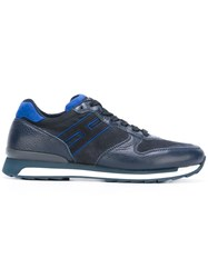 Hogan Rebel Running Sneakers Blue