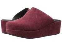 Cordani Carma 2 Burgundy Suede Women's Clog Shoes