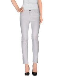 Twin Set Jeans Trousers Casual Trousers Women White