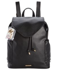 Rampage Customizable Perforated Pocket Backpack With Pins Only At Macy's Black
