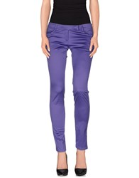 Versus Trousers Casual Trousers Women Purple