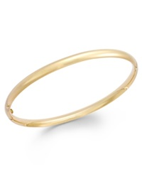 Macy's Stackable Bangle Bracelet In 14K Gold Yellow Gold