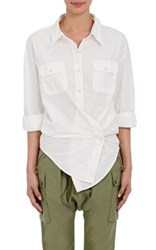 Nlst Women's Convertible Blouse White