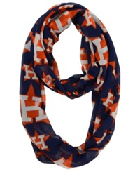 Forever Collectibles Houston Astros All Over Logo Infinity Scarf Black