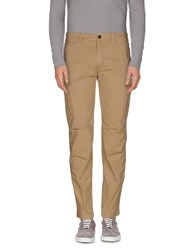 Msgm Trousers Casual Trousers Men Beige