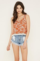 Forever 21 Paisley Print Tank