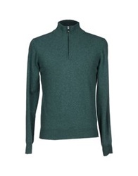 Della Ciana Turtlenecks Emerald Green