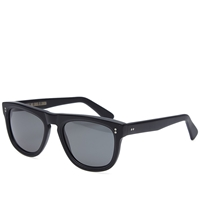 Cutler And Gross 1166 Sunglasses Matte Black And Green